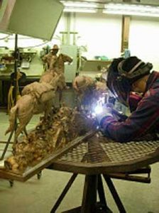 Welding the Pieces Together - Art Castings of Montana, Inc.