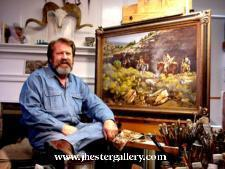 Jay Hester - Spotted Dog Web, LLC (dba. SpottedDogWeb.com) Wildlife Art Artist Websites